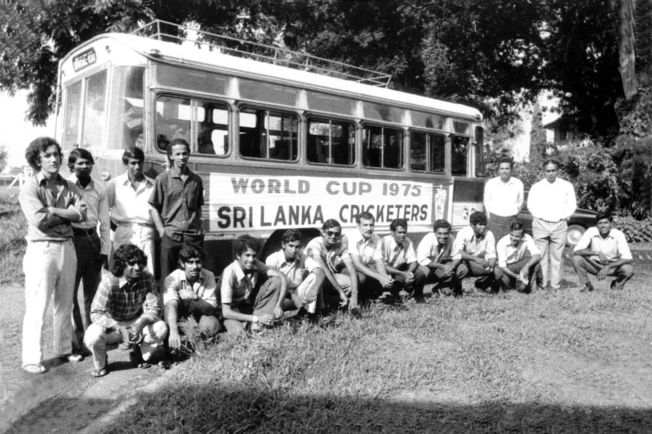 Sri Lanka Cricketers World Cup 1975